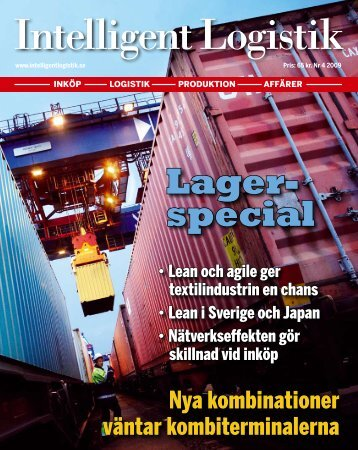 Lager- special - Intelligent Logistik