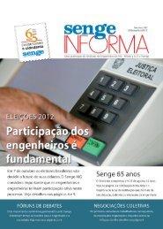 1 SENGE INFORMA Nº 200 - 30/SETEMBRO/2012 - Senge-MG