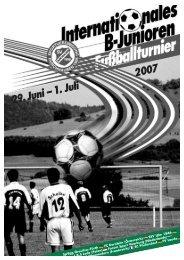 Journal zu diesem Turnier herunterladen. - Sportvereinigung ...