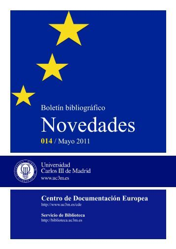 mayo 2011 - Universidad Carlos III de Madrid