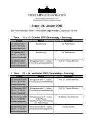 Stand: 24. Januar 2007