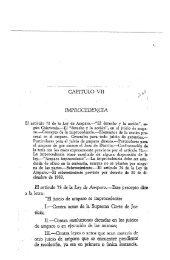 CAPITULO VII IMPROCEDENCIA