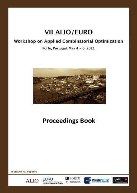 ALIO–EURO 2011 Proceedings - Faculdade de Engenharia da ...