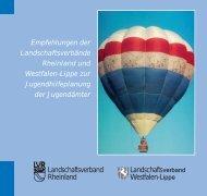 Empfehlungen - Landschaftsverband Rheinland