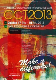 October 17 Thu. - 19 Sat., 2013 Kobe International Exhibition ... - CCT