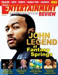 Fantasy Springs - Inland Entertainment Review Magazine