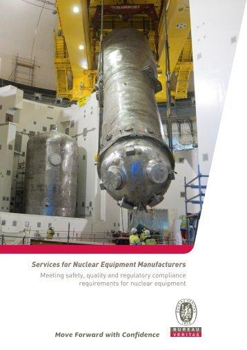 Services for Nuclear Equipment Manufacturers - Bureau Veritas