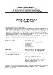 ZNALECKÝ POSUDEK - e-aukce