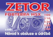Forterra HSX Stage3A 2012 CZ.pdf - CALS servis sro