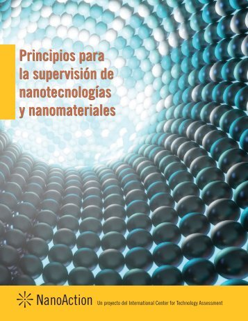 Principios para la supervisión de nanotecnologías y nanomateriales ...