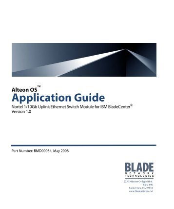 Download - BLADE Network Technologies