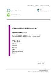 Monitoreo de Bosque Nativo - Secretaria de Ambiente y Desarrollo ...