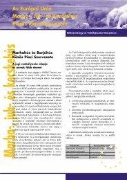Az Európai Unió Marha-, Juh- és Kecskehús Közös Piaci ... - Eu-info