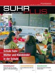 Schule Suhr: Mütter und Kleinkinder in der Schule
