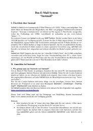 Anleitung zum E-Mail - Heidelberg Alumni International