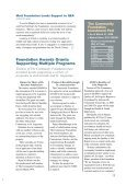 Mott Foundation Lends Support to QEA As Donors and Giving ... - Page 2