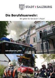 Jahresbericht 2009 - Berufsfeuerwehr Salzburg