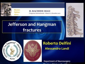 Jefferson and Hangman fractures - FormazioneSostenibile.it