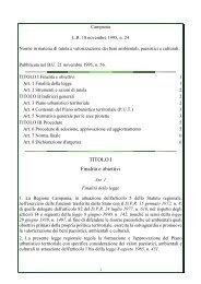 Legge Regionale n. 24 del 18 novembre 1995 - Sportello Impresa