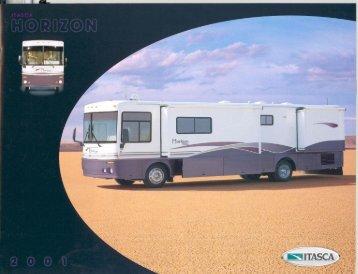 2001 Horizon Brochure