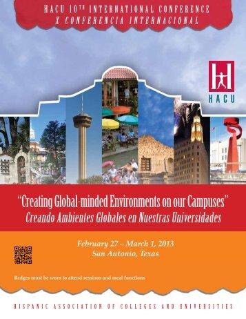 presionar aquí - Hispanic Association of Colleges and Universities