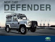 Land Rover is the world's leading four-wheel drive - It works ...