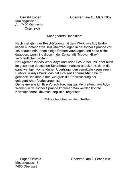 Gedichte Von Ady Endre ãœbersetzung Worksheet