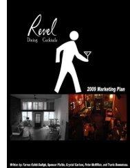 Revel Room Marketing Plan - ZEN Portfolios