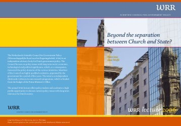 Beyond the seperation between church and state?