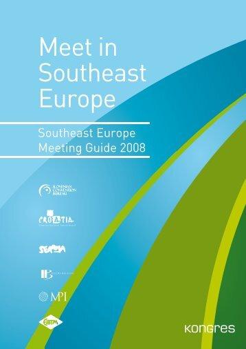 SE Europe Meeting Guide - Kongres Magazine