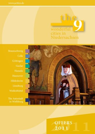 offers 2011 2011 - die 9 Städte in Niedersachsen