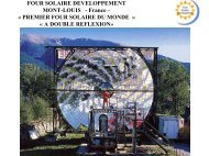 Four solaire dvt - Derbi