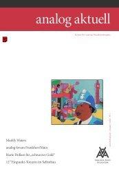 analog aktuell 1/2003 - Leseprobe - Analogue Audio Association