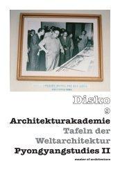 Disko 9 Architekturakademie Tafeln der Weltarchitektur - Akademie c/o
