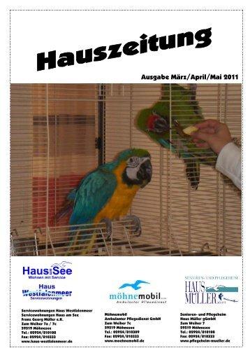 Ausgabe März/April/Mai 2011 - Senioren- und Pflegeheim Haus ...
