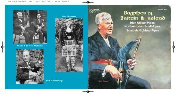 Bagpipes of Britain & Ireland - Chandos