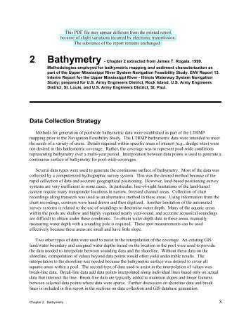 2 Bathymetry - Upper Midwest Environmental Sciences Center