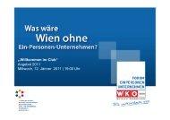 """""""Willkommen im Club"""" Angebot 2011 Mittwoch, 12. Jänner 2011   19 ..."""