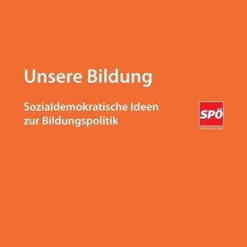 Unsere Bildung - SPÖ Oberösterreich