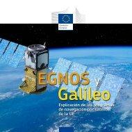 Explicación de los programas de navegación por satélite de la UE