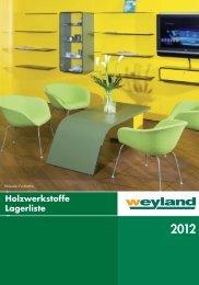 Holzwerkstoffe_2012_.. - Weyland GmbH