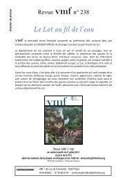 Le Lot au fil de l'eau - Comité départemental du tourisme du Lot