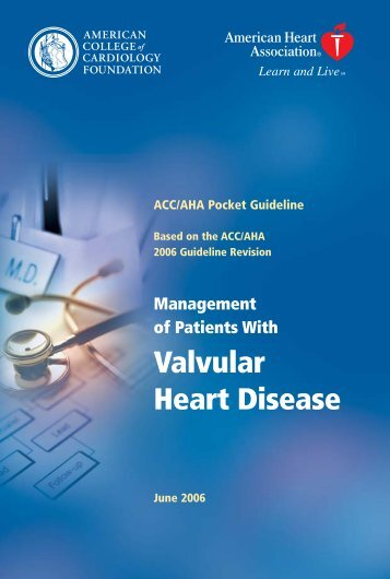 Management of Patients with Valvular Heart Disease