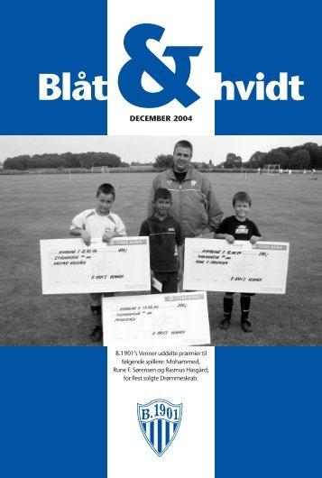 """Bl""""t og hvidt dec. 2004 - KlubCMS - DBU"""