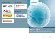 SPACe 2013 - Siemens