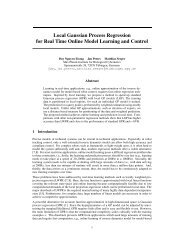 Local Gaussian Process Regression for Real Time Online Model ...