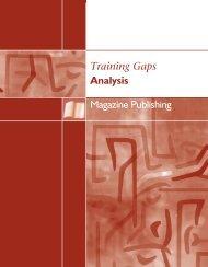 Magazine Publishing - Training Gaps Analysis - Conseil des ...