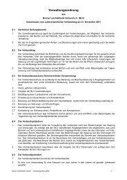 Verwaltungsordnung - Bremer Leichtathletik-Verband