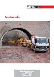 Tunnelbauprojekte Ausgabe 2010 - SCHWENK Zement KG
