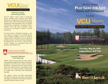 Charity Golf Tournament - Aplastic Anemia & MDS International ...